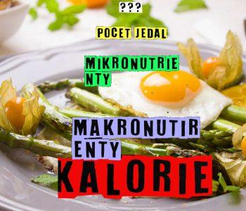 Vyživa základy, Kalórie, počet jedál, makronutrienty, vitamíny
